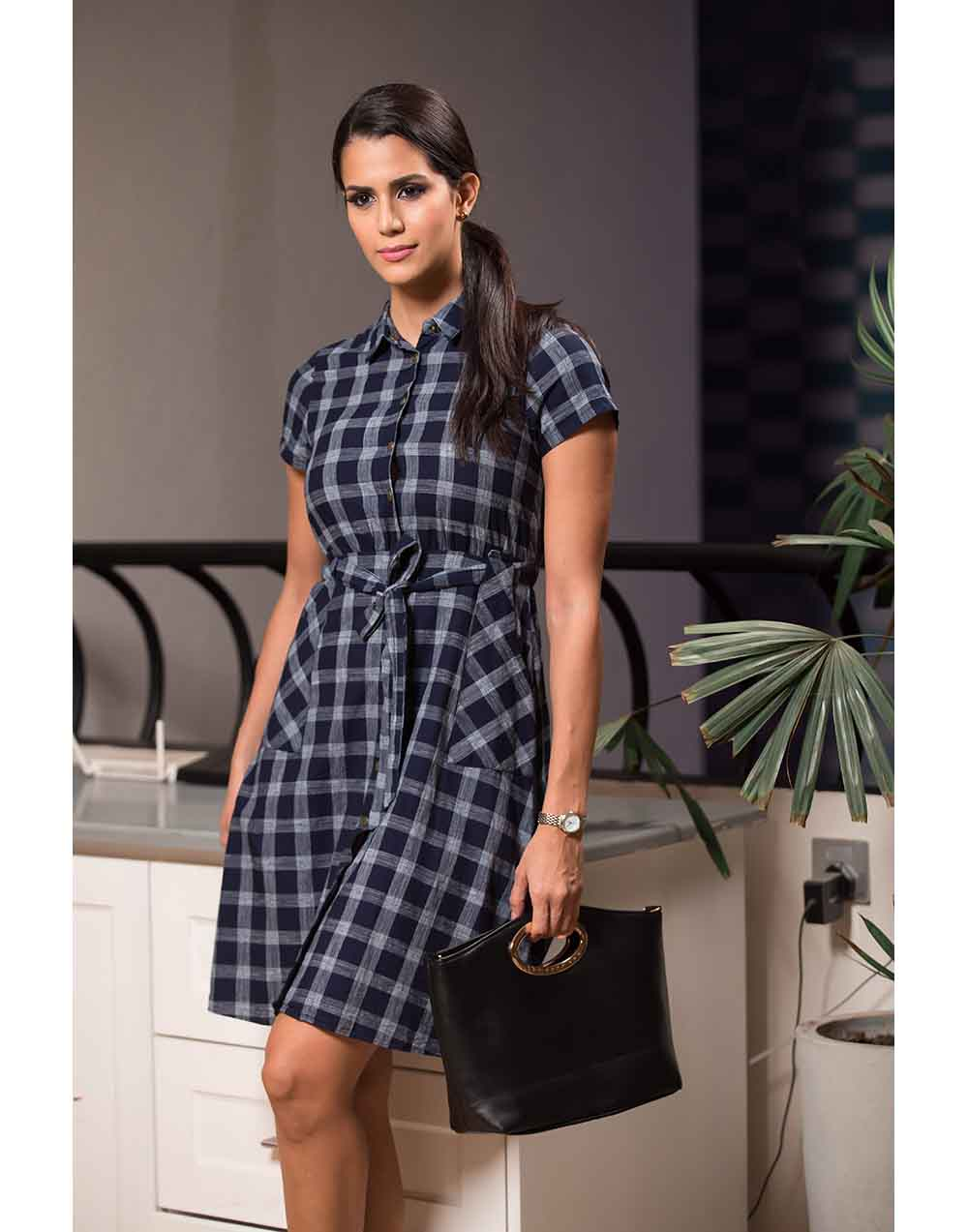Plaid Muse WW Dress
