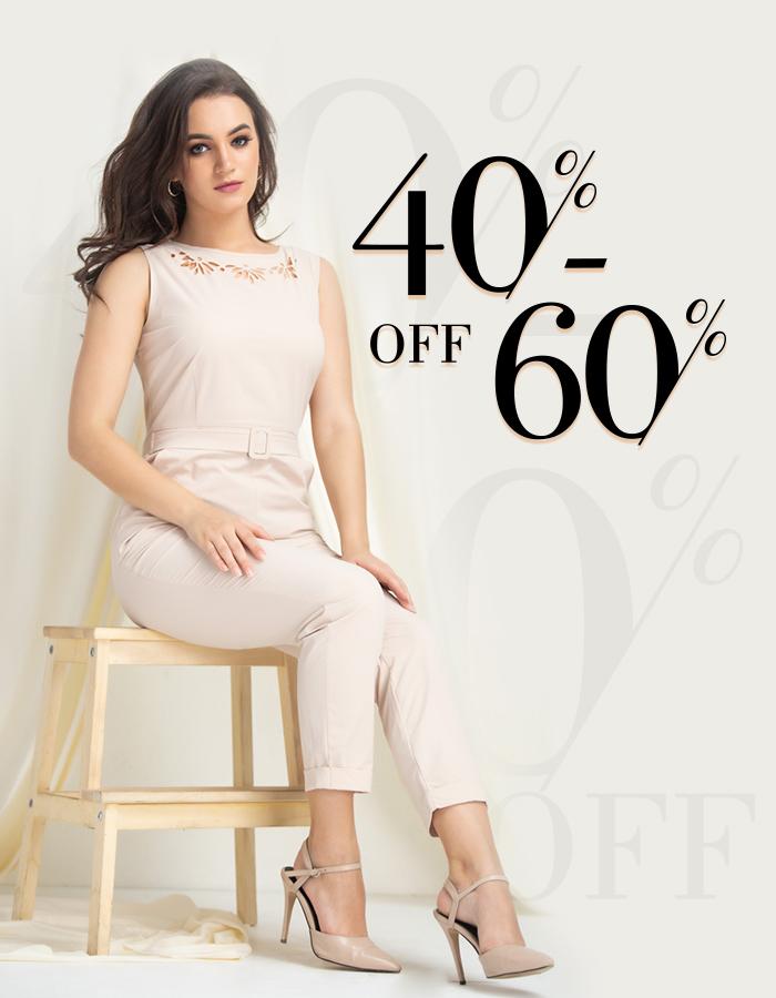 40% - 60% OFF