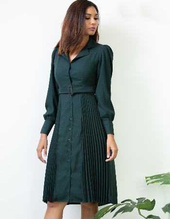 Pleating Profession WW Dress