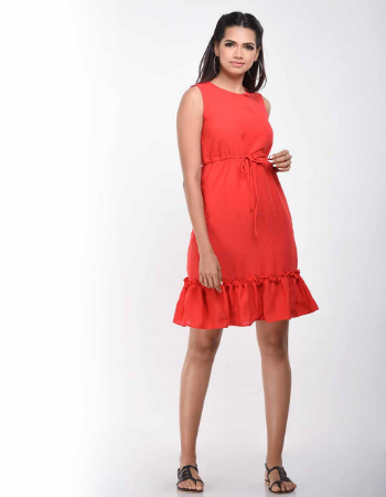 Bottom frill Detail Dress