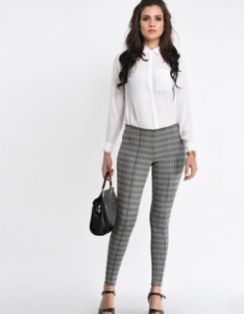 Plaid Waves WW Pant