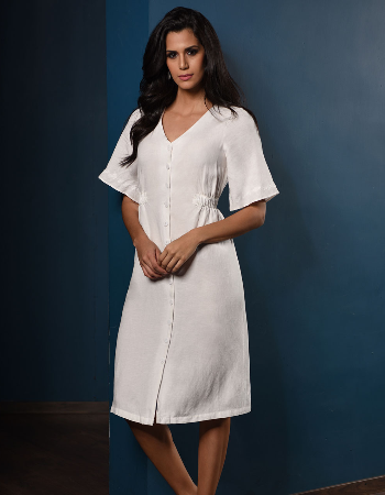 Summer Lady Linen Dress