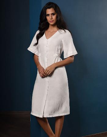 Summer Lady Linen Dress By Kelly Felder at Kapruka Online forexternalFeedProduct