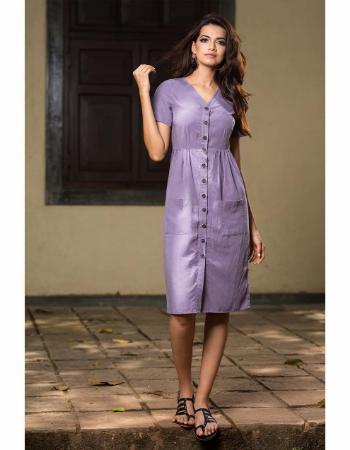 Casual Short Sleeve Linen Dress