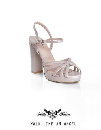 """""""Zuriel"""" Platform Heels With Ankle Straps"""