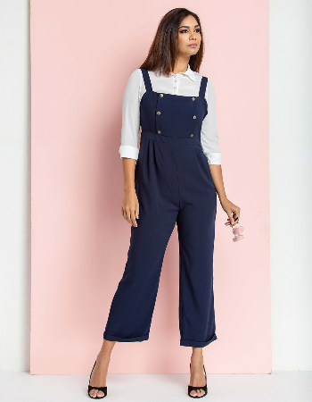 Work to be success WW Jumpsuit