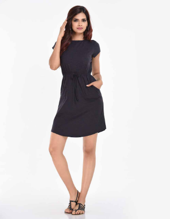 Plain  Boxy Casual WW Dress !