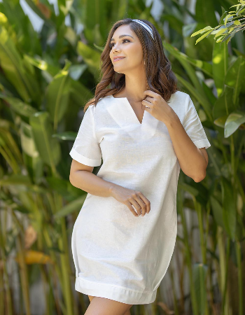 Feel The Nature Linen Dress