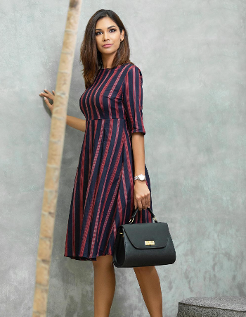 Stripe Lock WW Dress