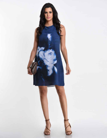 Misty Escape Shift Dress