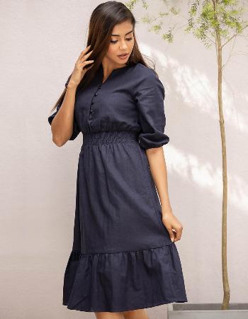 Live In Trend Linen Dress