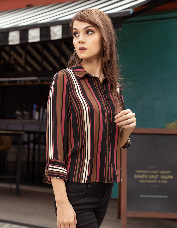 Stripes Always Casual Top