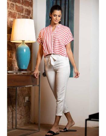 Straight Cut Linen Pant_