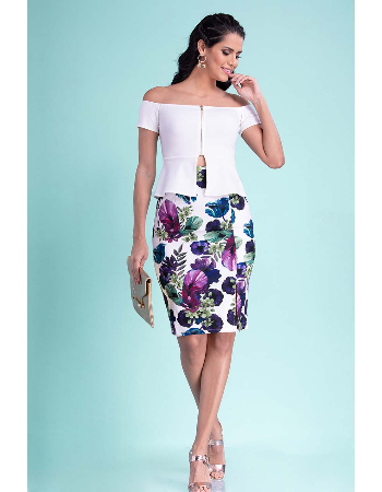 Orchid Skirt