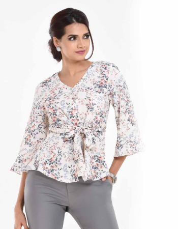 Floral Allover WW Top