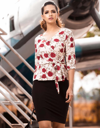 Flora Godge WW  Top By Kelly Felder at Kapruka Online for externalFeedProduct