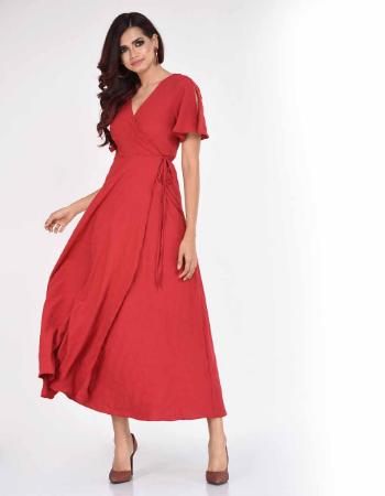 Fall Fashion Wrap Dress