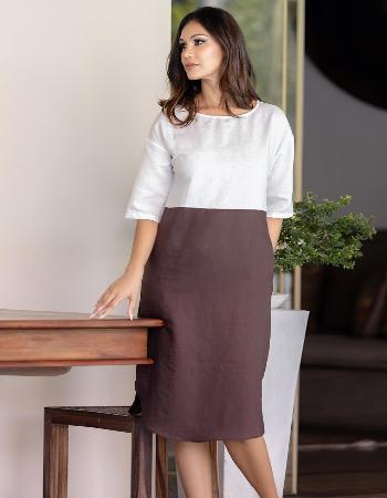 Trendy Moods Linen Dress