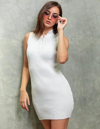 Bodycon Rib Dress
