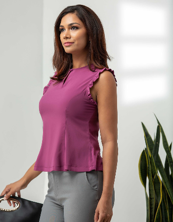 Laceline Sleeveless WW Top