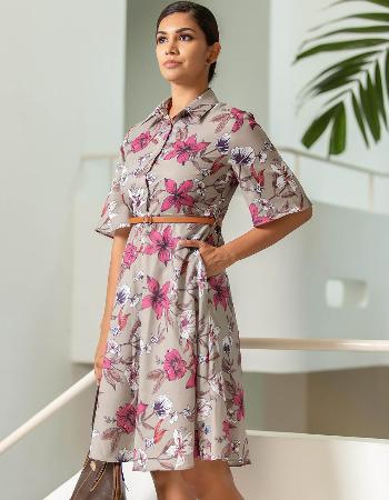 Big Floral Femme WW Dress