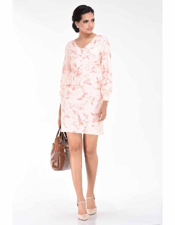 Lina Print WW Dress