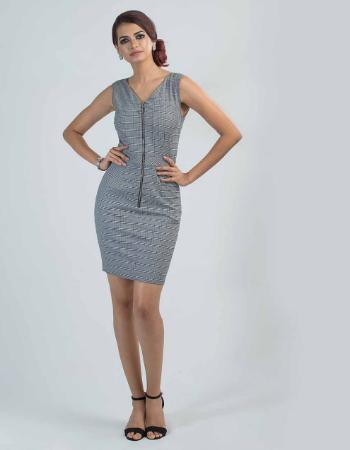 Stylish Check WW Dress