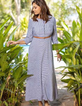 Linen Stripe Fever Dress