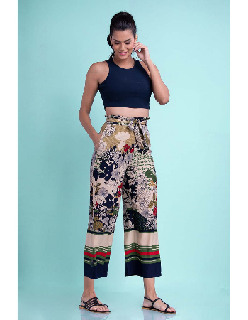 Frilled High Waisted Pant !!!