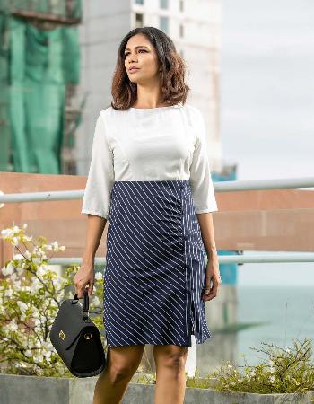 Talla stripe ww dress