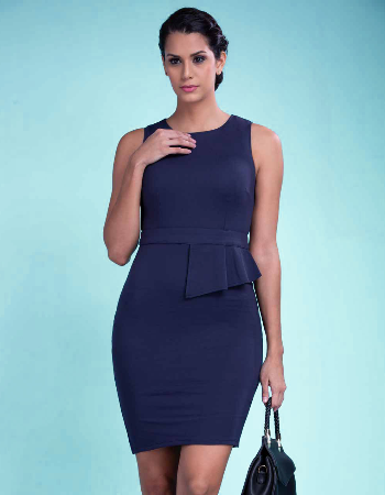Just Fitted Ponte WW Dress