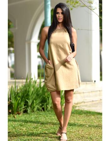 Easy Wear Linen Dress