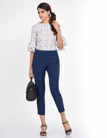 Clementine Floral WW Top