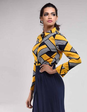 Stripy Fashion Top