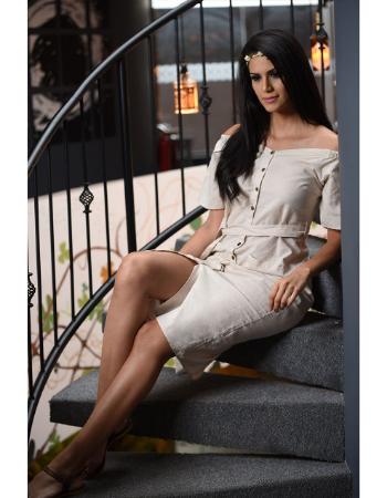 Vintage Hue Midi Dress