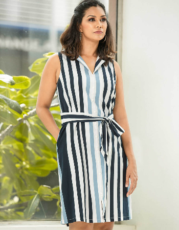 Free to be stripe ww dress