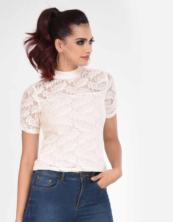 Lace Expo Top!