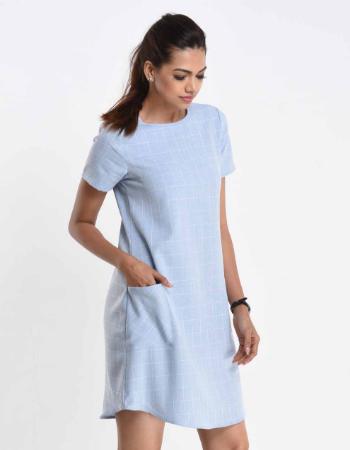 Felicity Plaid Shirt Dress