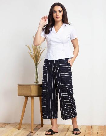 Short Sleeve Double Button Linen at Kapruka Online