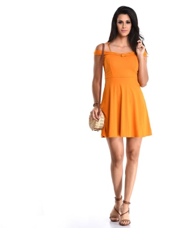 Forever Young Bardot Skater Dress