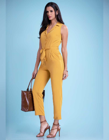 Sleeveless WW Jumpsuit