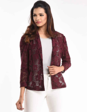 Lace Against Time Jacket