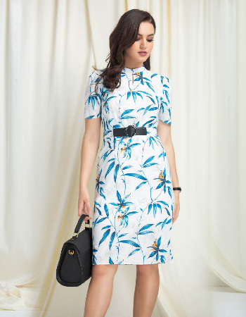 Just like you printed ww dress