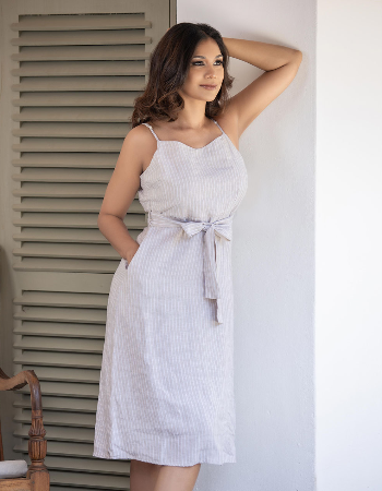 Feel The Breeze Linen Dress