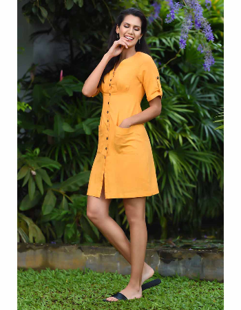 Live In Summer Linen Dress