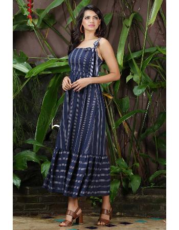 Stripe Linen Dress !