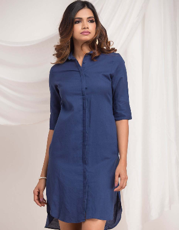 High low Linen Dress