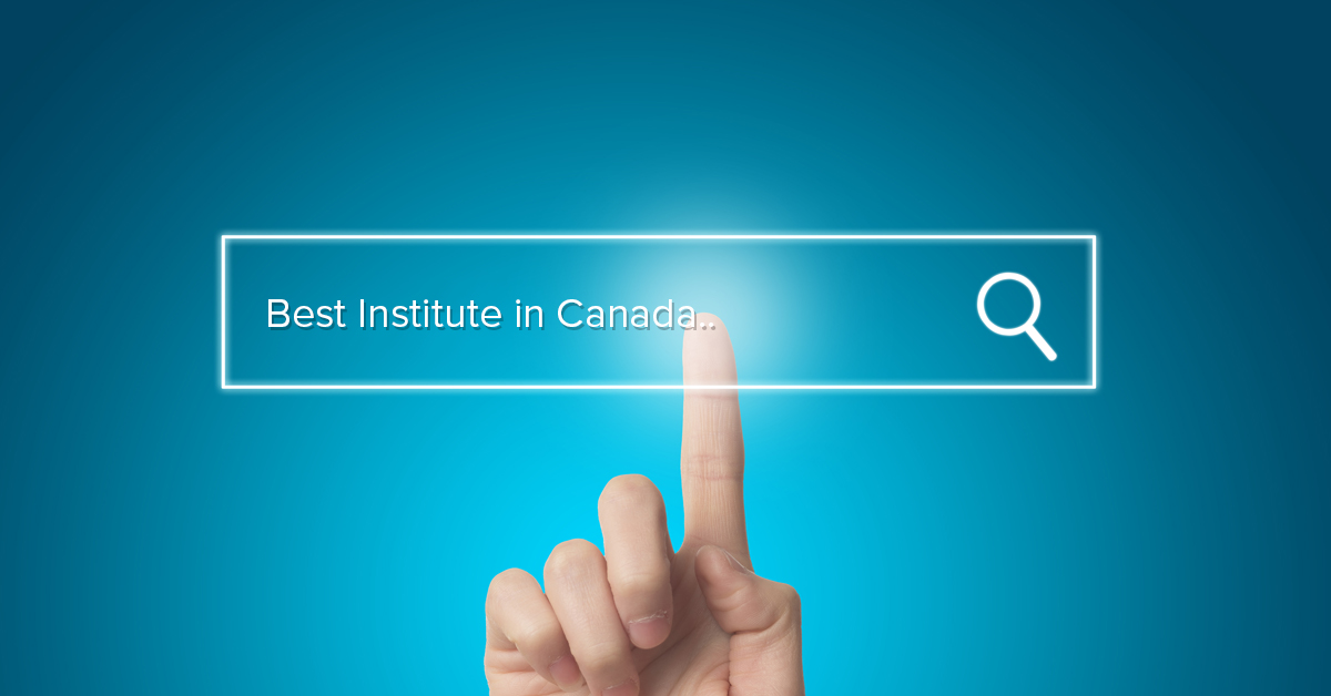 Selecting an Institute in Canada