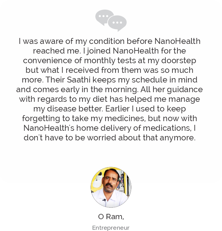 Ram Testimonial on COVID Care Recovery