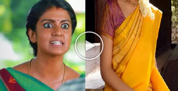 sari dress adjust